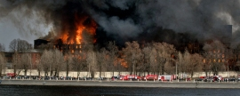 Area of fire at Nevskaya Manufaktura in St. Petersburg has grown to 10,000 square meters