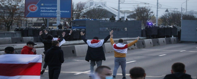 148 protesters are detained in Belarus