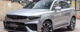 Cost of new crossover Geely Tugella in Russia