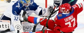 Russian national hockey team defeated Finland
