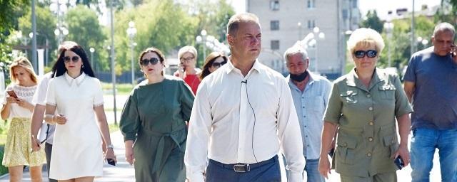 Сергей Дорофеев совершил объезд по городу