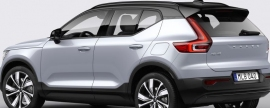 Volvo starts production of fully electric XC40 recharge P8