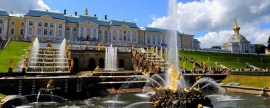 Peterhof museum-reserve has started its fountain season