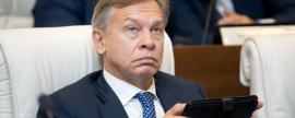Pushkov calls US airstrike on Syria a signal to other states