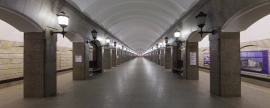 Ground lobbies of two St Petersburg metro stations will be closed on May holidays