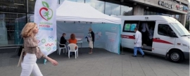 Mobile flu vaccination points have become more accessible in Moscow