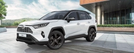 Toyota presents updated RAV4 for Russia