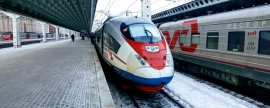 Russians will be able to get from Moscow to St. Petersburg by train for two hours