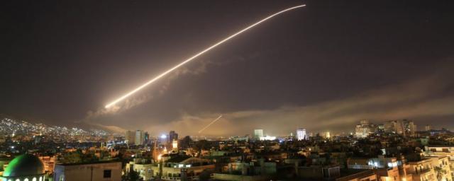 Самолеты ВВС Израиля атаковали позиции армии Сирии в Алеппо