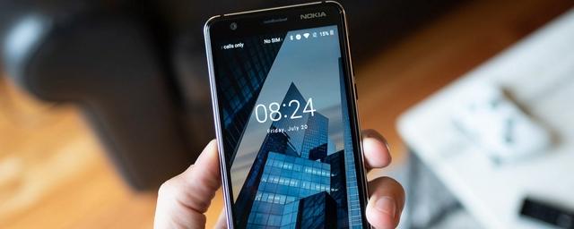 Смартфон Nokia 3.1 получил обновление прошивки