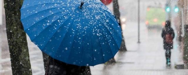 В Воронеже потеплеет и пойдет мокрый снег