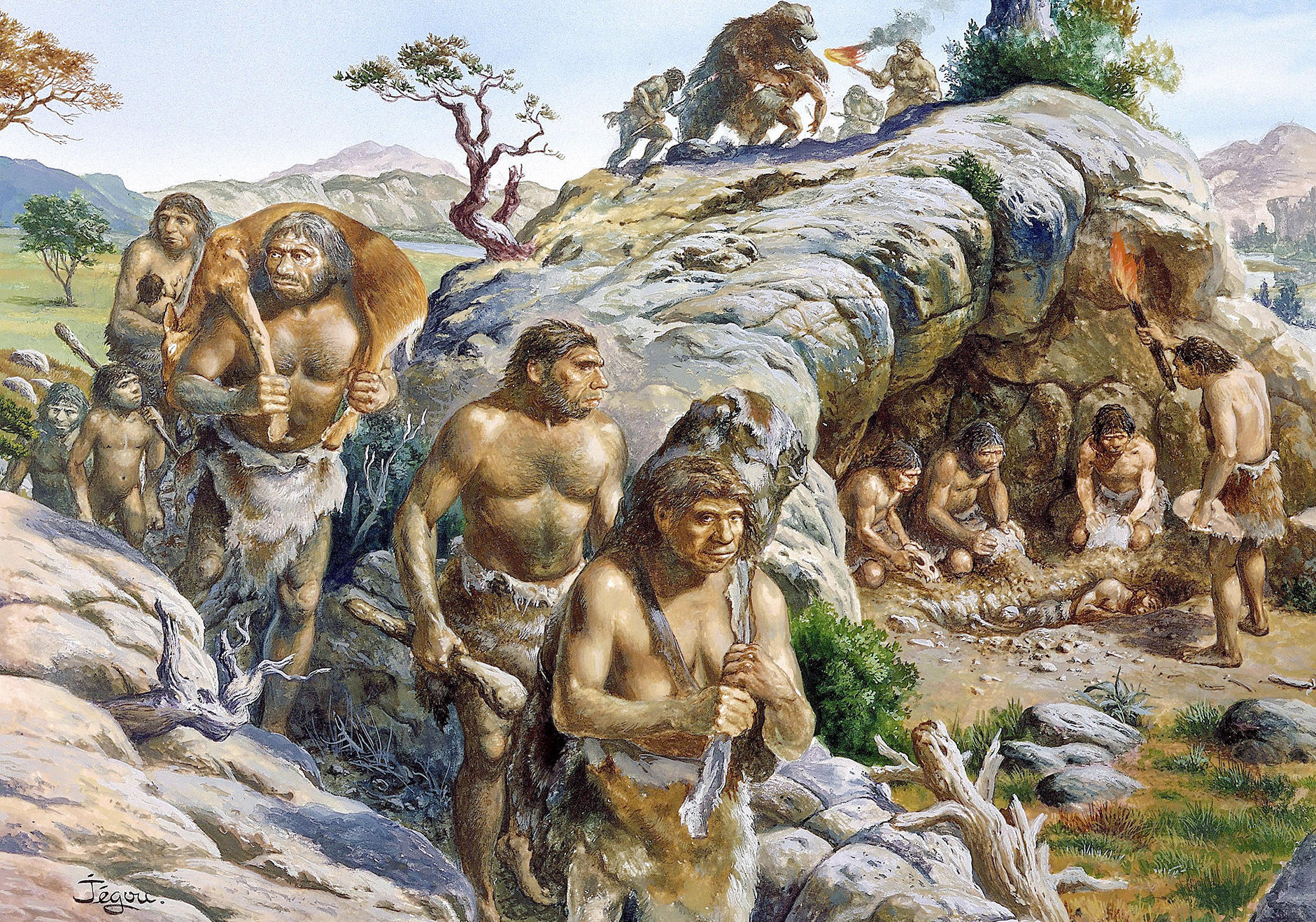 если древние времена картинки люди время штурма
