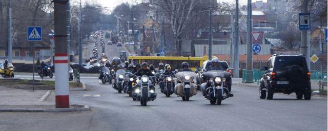 В Мордовии байкеры открыли мотосезон