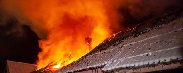В Красноярском крае при пожаре погибли пятеро детей и женщина
