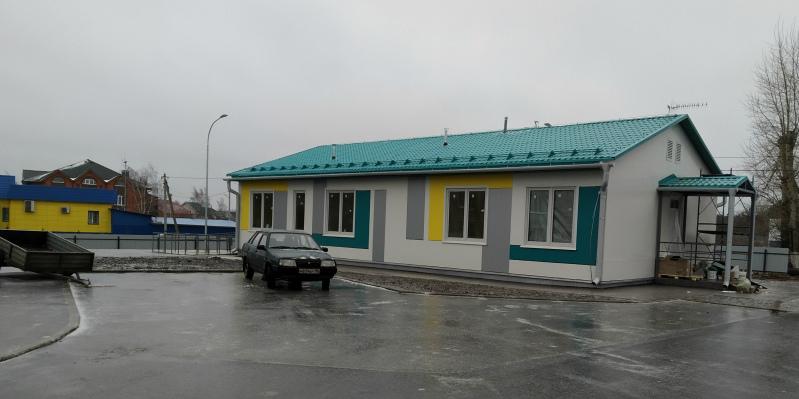 Строительство ФАПа в Ульянино завершат к 28 декабря