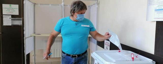 В Раменском городской округе проголосовал заслуженный артист Республики Крым