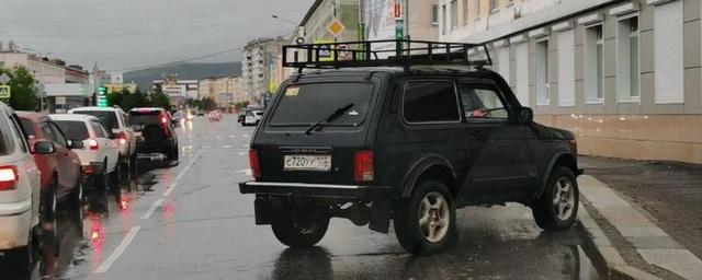 Жители Магадана делятся впечатлениями от автохамов