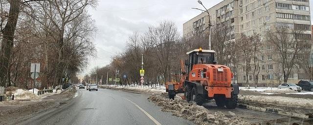 С улиц Раменского вывезли более 15 тысяч кубометров снега