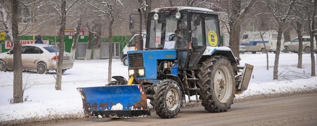 В Омске будут судить мужчину, угнавшего снегоуборочный трактор