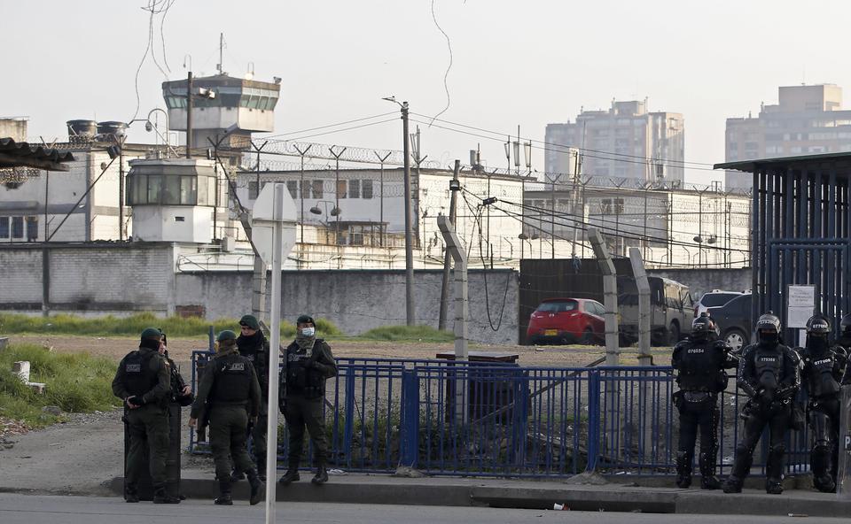 Беспорядки в тюрьме Эквадора привели к гибели четырех человек