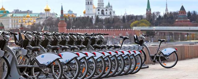 За 2020 год москвичи 5,7 млн раз воспользовались городским велопрокатом