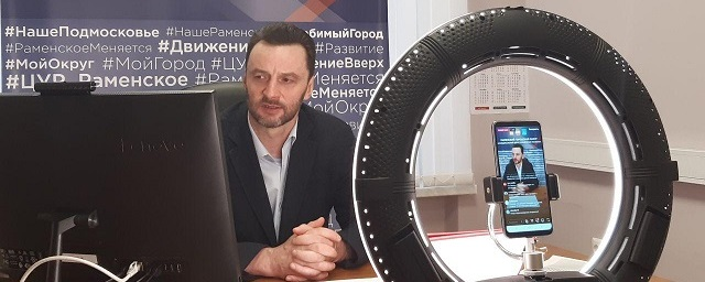 Виктор Неволин станет гостем прямого эфира на Раменском телевидении