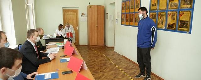 Евгений Дегтярев рассказал об итогах призыва граждан на военную службу