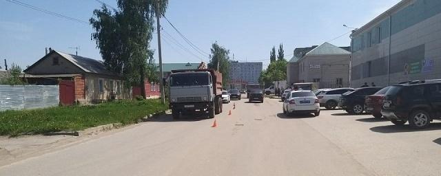 В Скопине под колесами КамАЗа погиб велосипедист