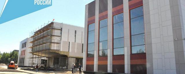 В Электрогорске продолжается строительство школы на ул. Чкалова