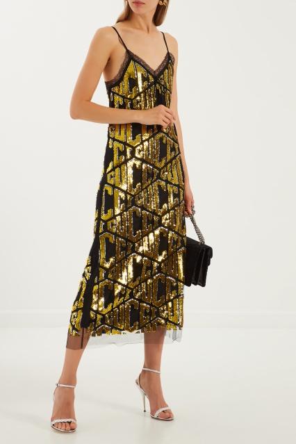 Платье-комбинация Gucci