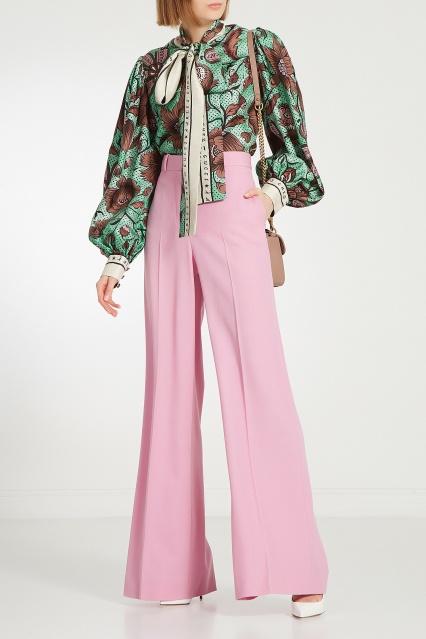 Шелковая блуза Gucci