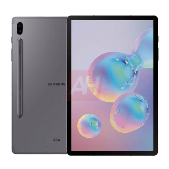 Самсунг  Galaxy Tab S6: флагманский планшет показался напресс-рендерах