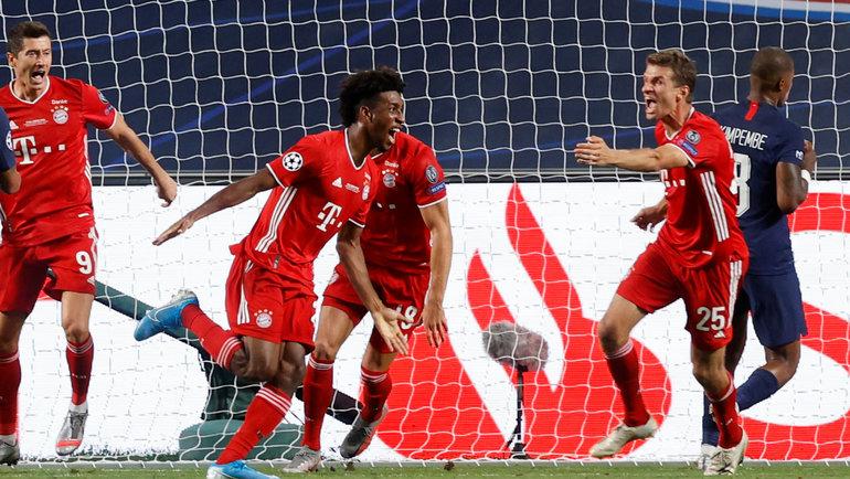 Матч, достойный финала: как «Бавария» выигрывала свой шестой кубок Лиги чемпионов