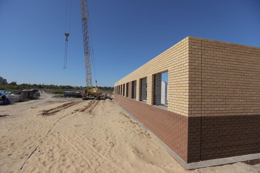 Капсулу времени на месте строительства новой школы заложили в Дзержинске