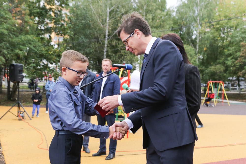 В Нижнем Новгороде открылась новая воркаут-площадка