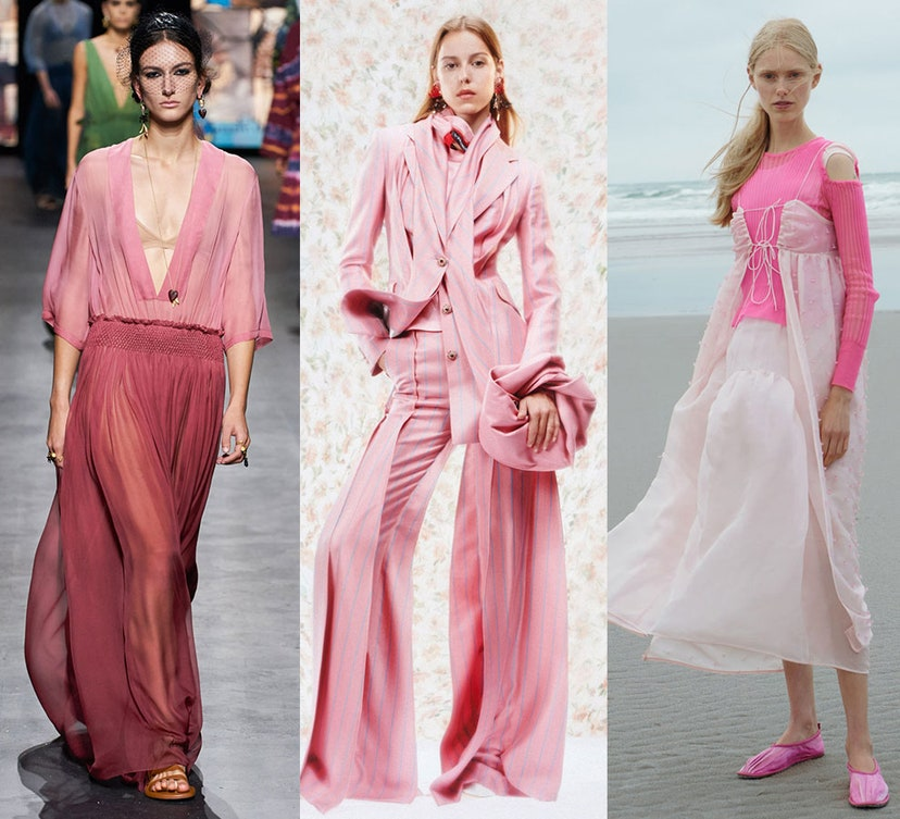 Названы самые модные цвета сезона весна-лето 2021