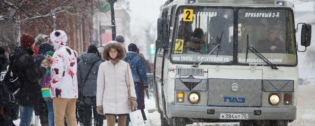 Власти Томска вернут автобусный маршрут №27 со следующей недели