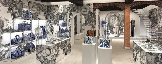 В Милане открылся мужской бутик Louis Vuitton