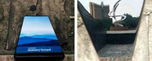 В Сети появились фото работающего Samsung Galaxy Note 8