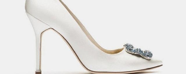 Manolo Blahnik выпустил свадебную коллекцию обуви