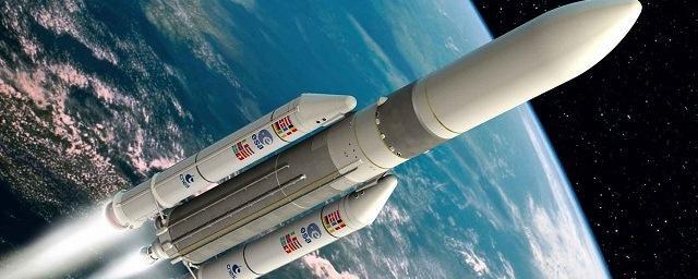 Ракета-носитель ariane 5соспутниками galileo стартовала скосмодрома куру
