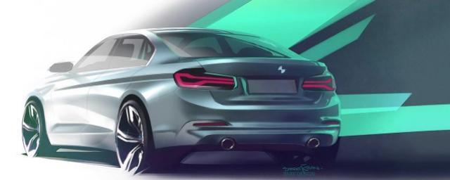 BMW представит электрический седан 3 Series во Франкфурте
