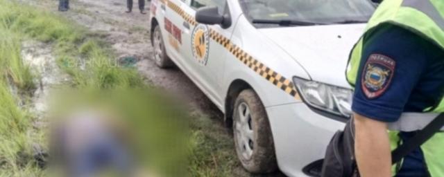 Жители Новоалтайска обнаружили на берегу реки Чеснокова труп убитого таксиста