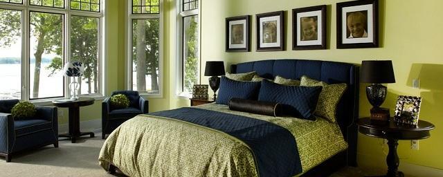 Оливковый цвет в дизайне интерьера квартиры
