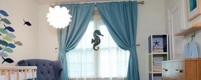 Советы по выбору штор в детскую комнату