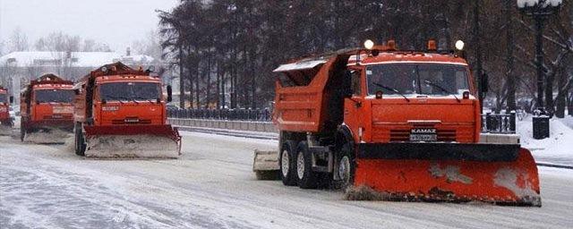 На трассах Курской области работают более 250 единиц спецтехники
