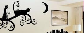Шаблоны для декора стены распечатать
