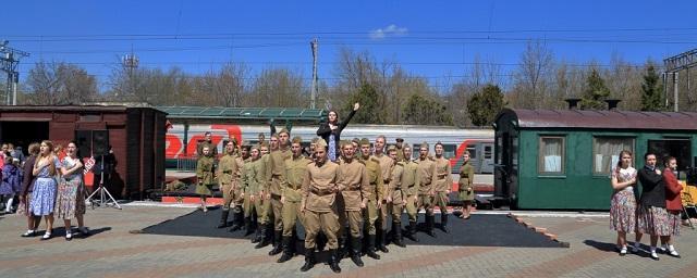 В Ростов 28 апреля прибудет ретро-поезд «Победа»
