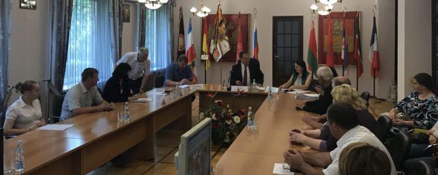 Глава Ногинского района встретился с руководителями фермерских хозяйств