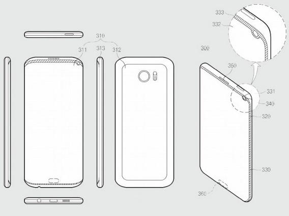 Самсунг встроит камеру исканер отпечатка в дисплей телефона